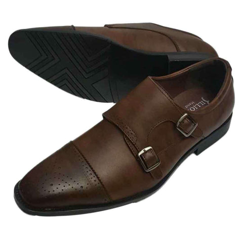 Men's Dark Brown Italian Formal Shoes