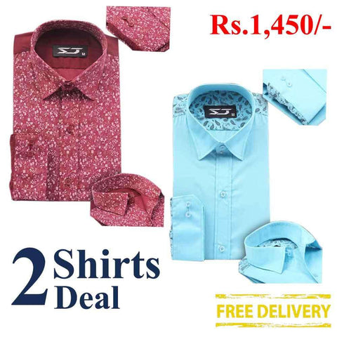 Pack Of 2 Shirts Deal 13
