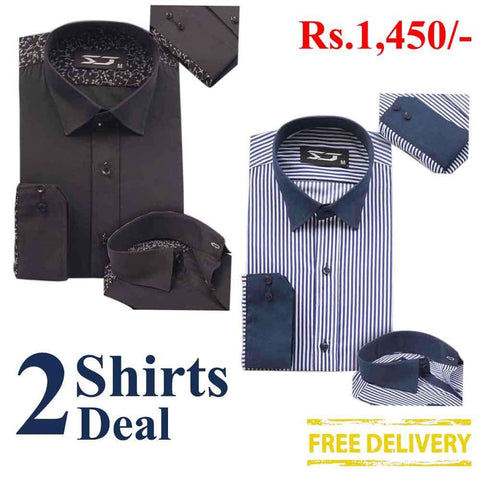 Pack Of 2 Shirts Deal 14