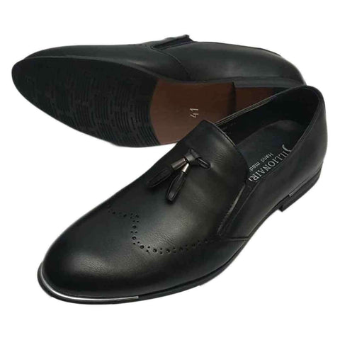 Foreign Billionaire? Black Formal Shoes for Men