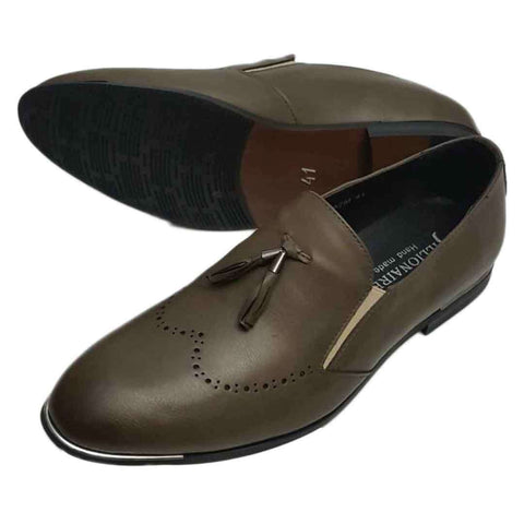 Foreign Billionaire Brown Formal Shoes for Men
