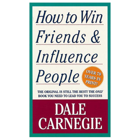 How To Win Friends And Influence People Book - EBook
