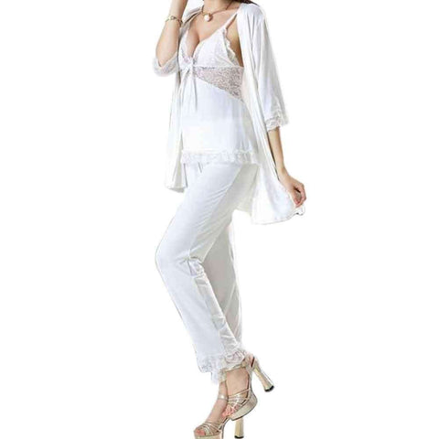 Pj Set Nightwear 3 Pc