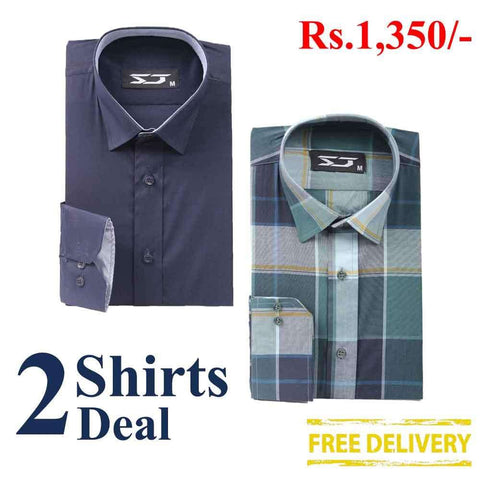 Pack Of 2 Shirts Deal 01