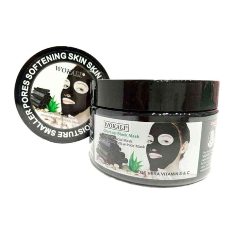 Women's Wokali Charcoal Black Peel Off Mask