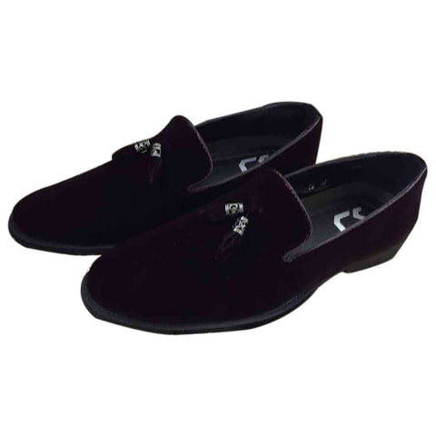 Men's Croso Loafers Formal Black Shoes