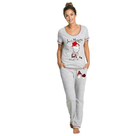 Soft Cotton Grey SleepWear With Trouser