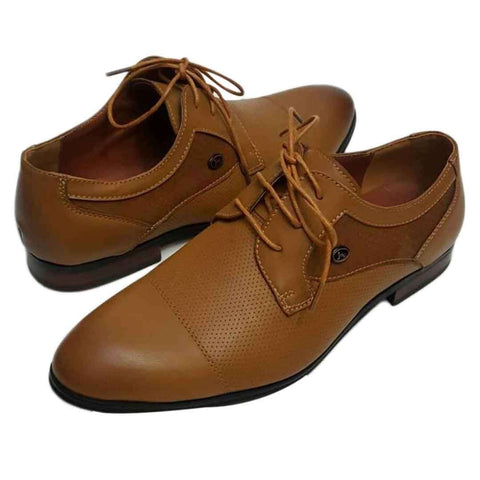 Gents Pure leather Brown Shoes