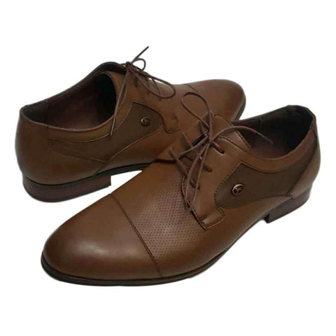 Gents Pure leather Cofee Shoes