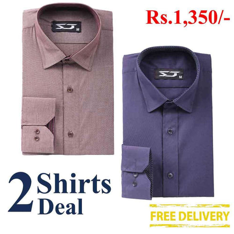 Pack Of 2 Shirts Deal 02