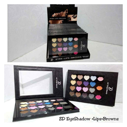 ZD Eyeshadow, Lip & Brows Make Up