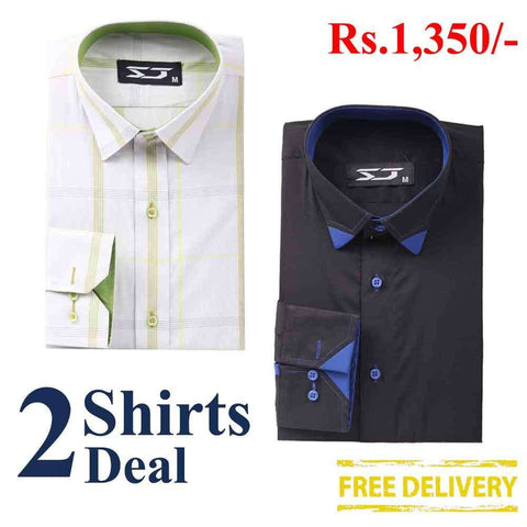 Pack Of 2 Shirts Deal 03