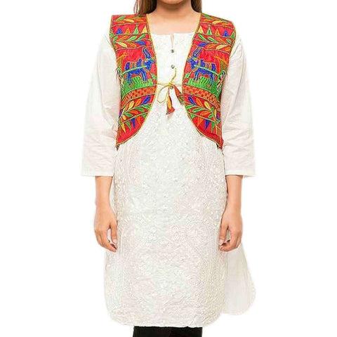 Multicolor Mix Cotton Burnt Cotty For Women's