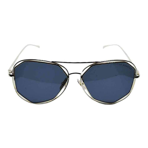 Men's Blue and Golden Stylish Sunglasses
