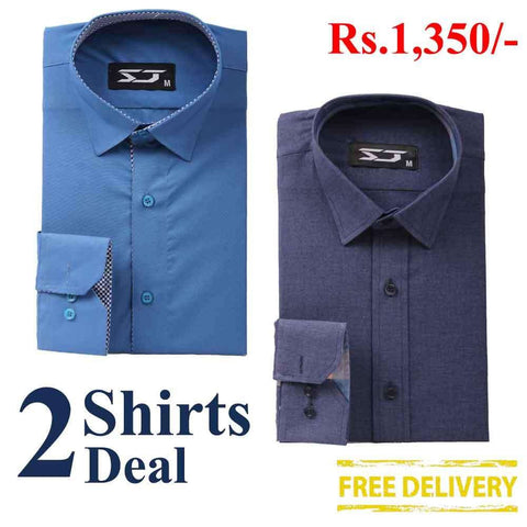 Pack Of 2 Shirts Deal 04