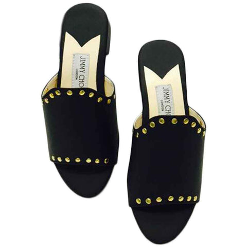 Women's Black Mules