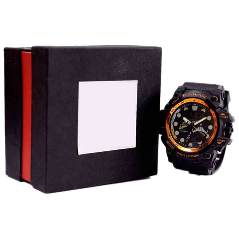 G-Shock Twin Sensor Orange And Black Watch