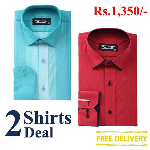 Pack Of 2 Shirts Deal 05