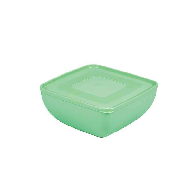 Ucsan Square Frosted Small Bowl with Lid