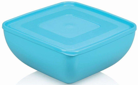 Ucsan Square Sky Blue Bowl with Lid