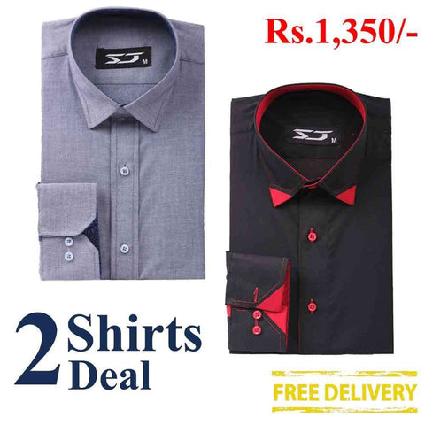 Pack Of 2 Shirts Deal 06