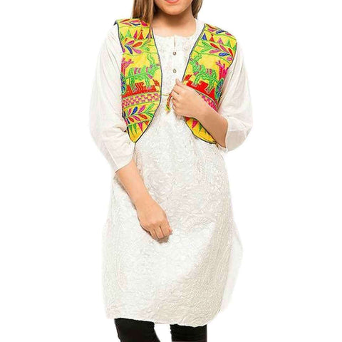 Digital Printed Cotton Cotty for Girls