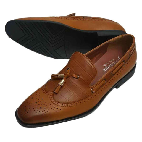 Brown leather Italian Billionaire Shoes