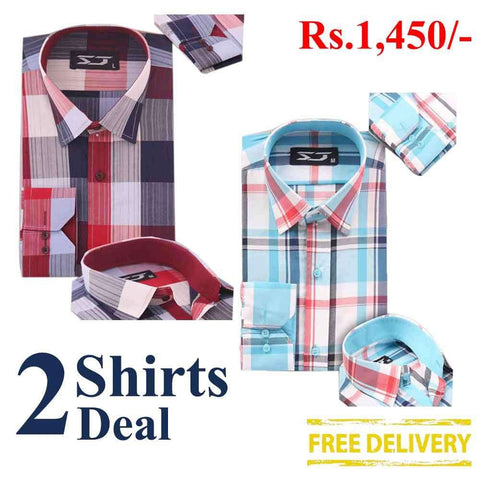 Pack Of 2 Shirts Deal 07