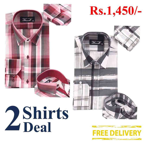 Pack Of 2 Shirts Deal 08