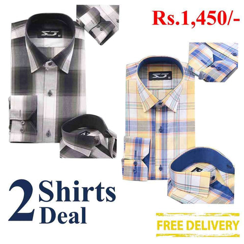 Pack Of 2 Shirts Deal 10