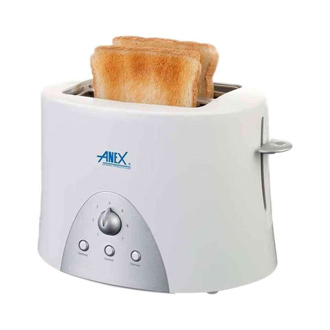 Anex AG 3011 Cool Touch   2 Slice Toaster   White