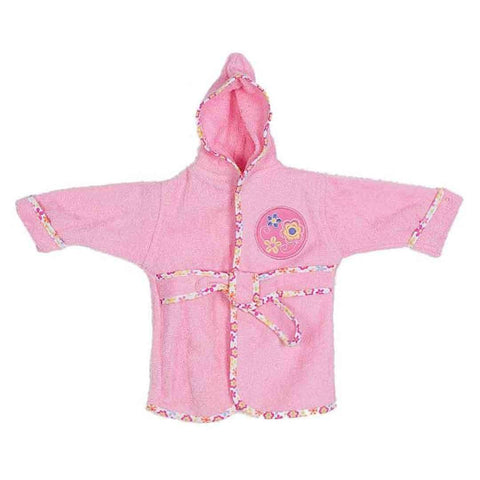 Baby Flower Design Bathrobe