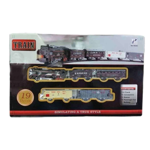 Black Battery Operated Big Toy Train