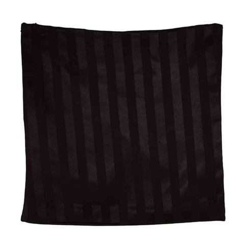 Black & Grey Solid Stain Cushion Cover