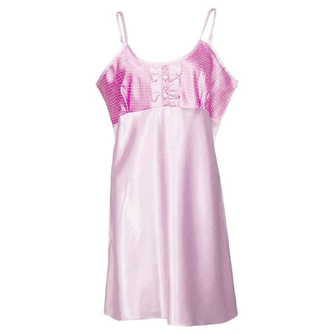 Women's Pink Camisole With Bra