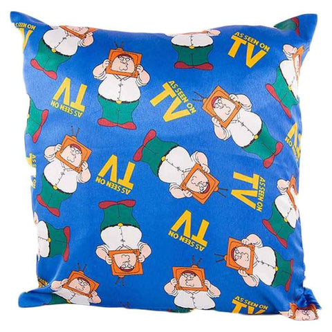 As Seen On Tv Print Cushion Cover