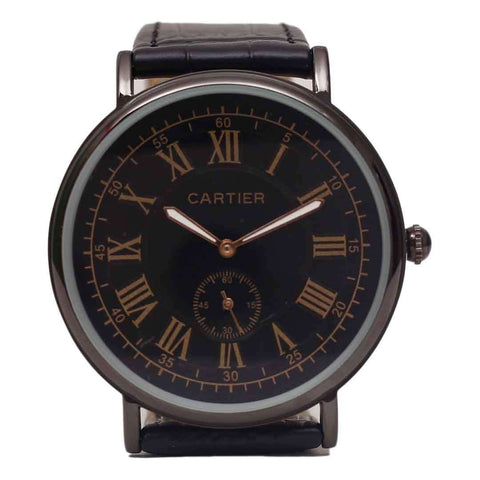 CARTIER Black Watch For Men