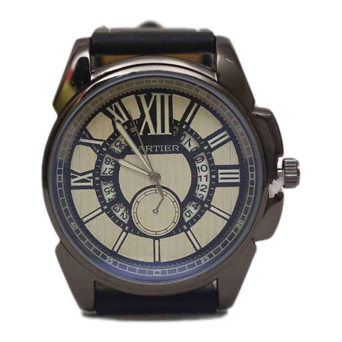 CARTIER Blue Watch For Men