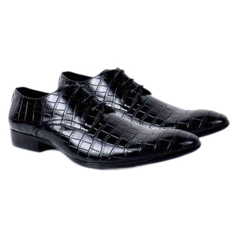 Shining Black Formal Men's Shoes