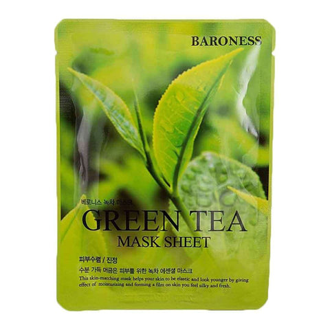 Baroness Green Tea Mask Sheet