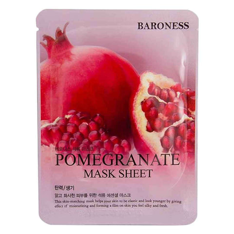 Baroness Pomegranate Mask Sheet
