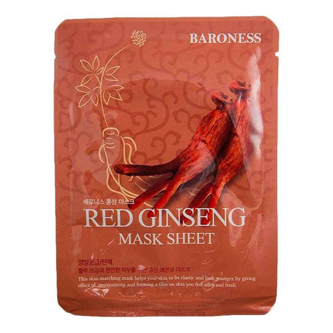 Baroness Red Ginseng Mask Sheet