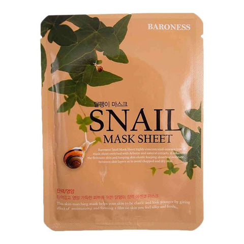 Baroness Snail Mask Sheet