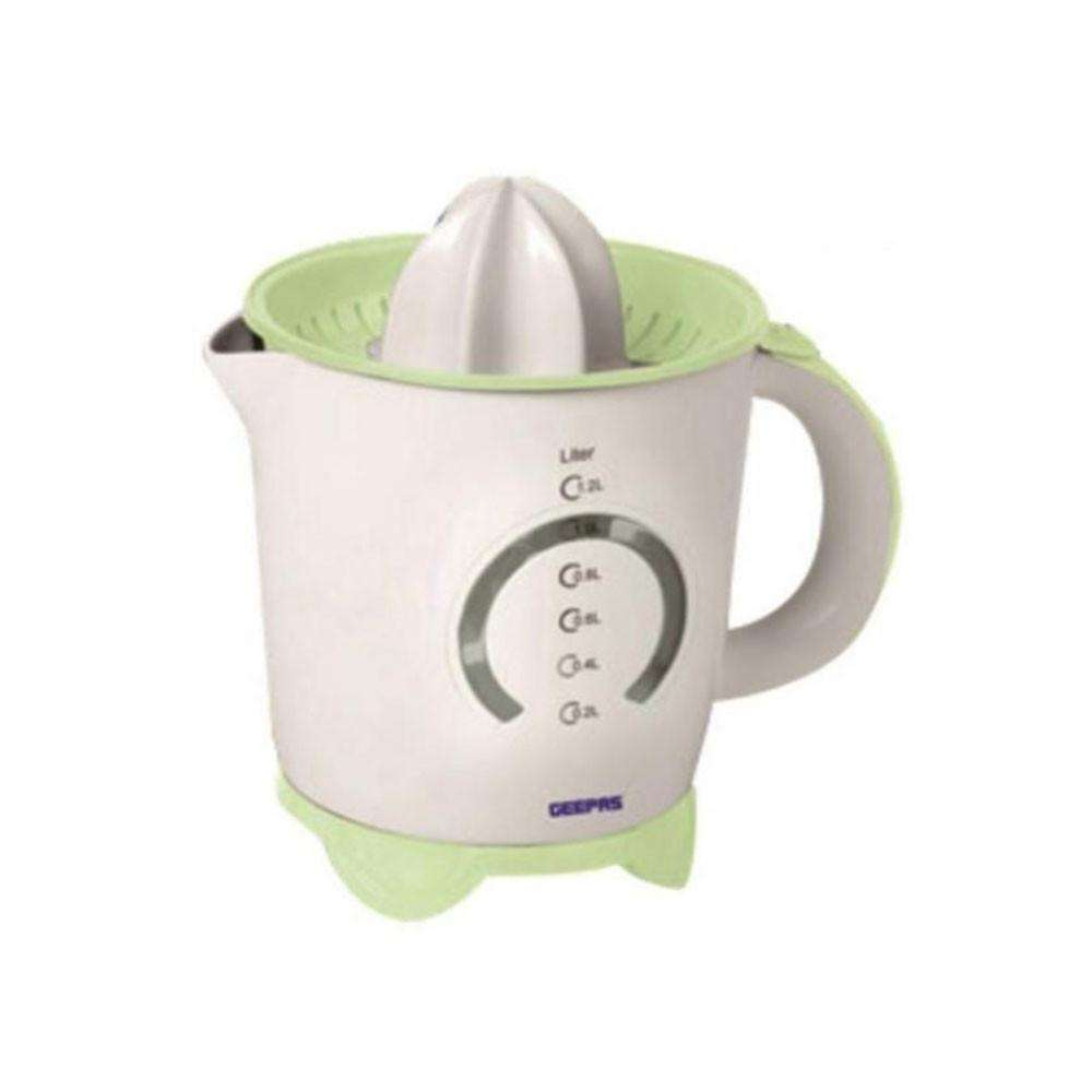 Geepas Citrus Juicer with Bi-Directional twist -1.2 liter - White
