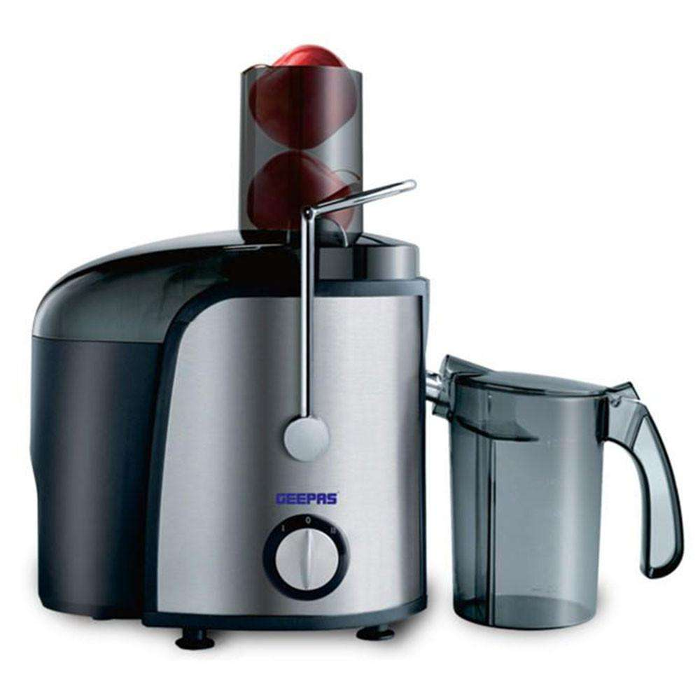 Geepas Juicer & Extractor with Safety Lock - Black