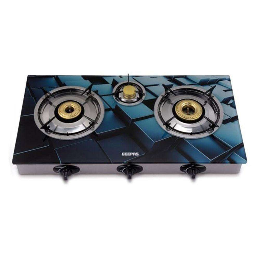 Geepas Gas Stove Stylized Blue