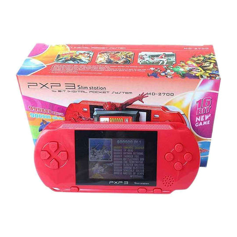 GameStop PXP 3 Slim Station 16 Bit Red