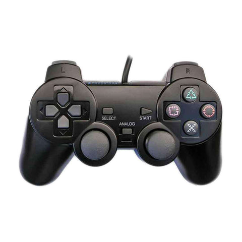 Games Arena DualShock Controller For PS 2 Black