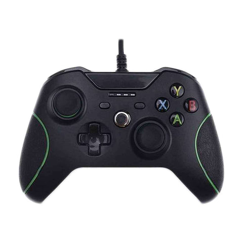 Games Arena Wired USB Gaming Controller for PC & Xbox One Black