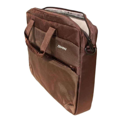 H-&Co Brown Laptop Bag 15.6 Inch